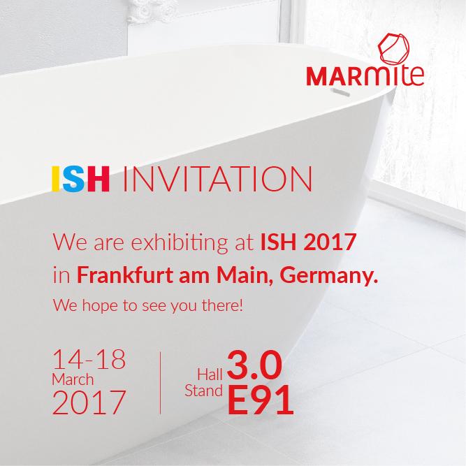 Visit us at ISH 2017!
