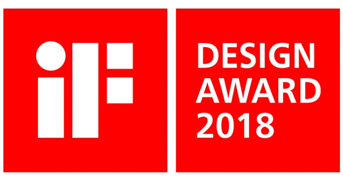 iF Design Award for our washbasins!