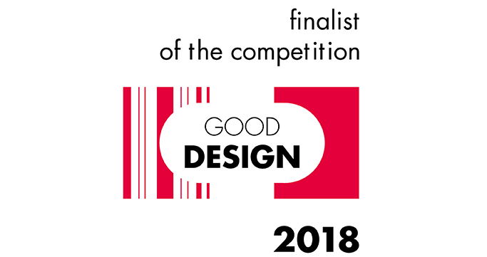Double récompense Good Design 2018